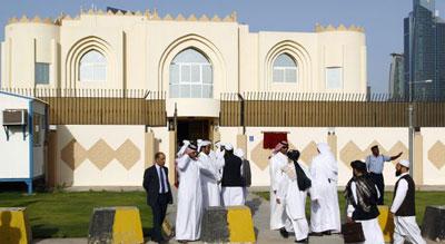 Des centres d'entrainements militaires à Doha pour les rebelles syriens.