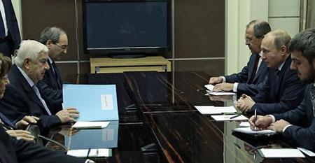 La Russie renforce son soutien militaire et politique à Damas