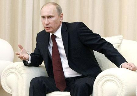 Poutine: L'armée ukrainienne est «une Légion étrangère de l'Otan»