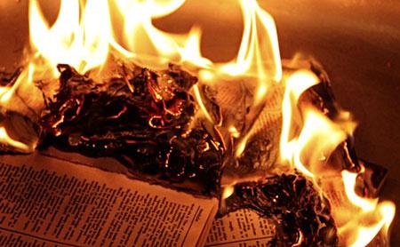 Mossou: «Daech» brûle 2.000 livres culturels