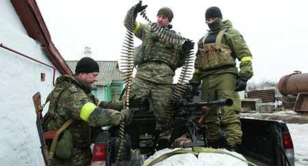 Les Etats-Unis envisagent d'armer Kiev.