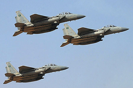 Le Yémen dévoile le jeu de l'Arabie.