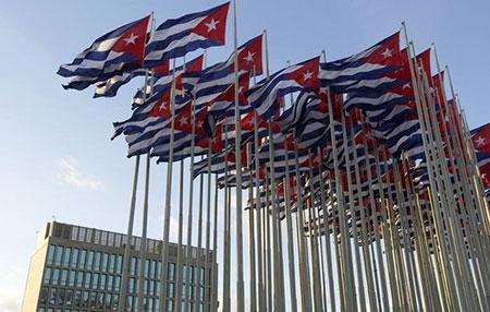 Washington lève des sanctions contre des entreprises commerçant avec Cuba.