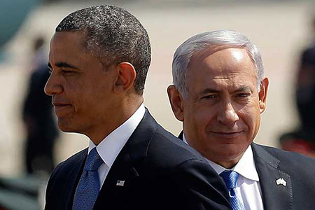 Obama exprime son désaccord avec Netanyahu sur le fond.