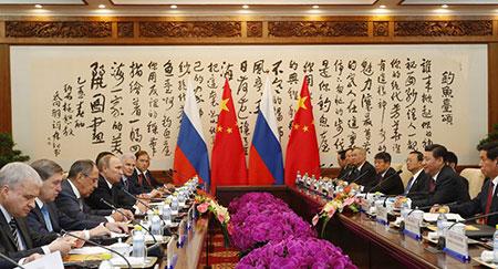 La Russie rejoint la banque asiatique AIIB.