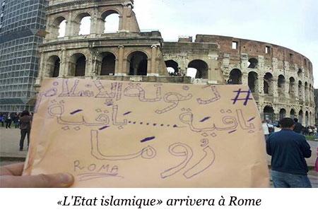 Les extrémistes de «Daech» promettent de «visiter le Colisée».