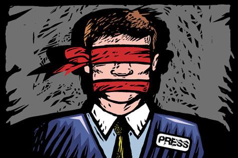 La liberté de la presse serait «au plus bas» depuis 10 ans.