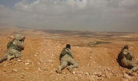 Visite spéciale aux combattants du Hezbollah au Qalamoun (1).