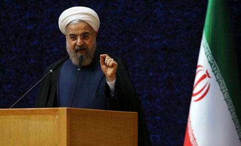 Nucléaire: l'Iran négocie avec le 5+1, pas avec le Congrès américain, dit Rohani.
