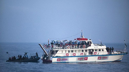 «Israël» intercepte un navire de militants pro-palestiniens en mer