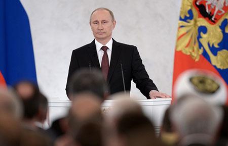 Poutine est le leader mondial le plus respecté, selon un général US.