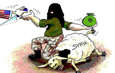 Les mercenaires de la CIA en Syrie coûtent un milliard de dollars par an.