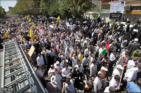 Journée mondiale d'al-Qods: Des manifestations monstres à Téhéran