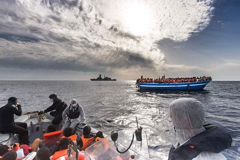 Record de 137.000 migrants en Méditerranée depuis début 2015.