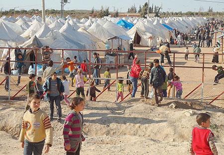 Le nombre de réfugiés syriens dépasse les 4 millions.