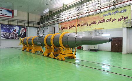 Les missiles Sajil