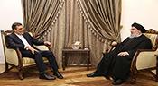 Le porte-parole du ministère iranien des AE chez sayed Nasrallah
