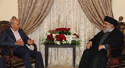 Le président Berry chez sayed Nasrallah: Il faut un travail sérieux pour lutter contre la corruption