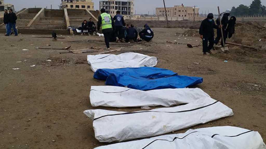 Syrie : sept fosses communes découvertes à Boukamal, ex-fief de «Daech»