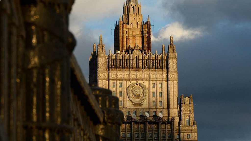 Moscou réagit à l'arrestation d'un citoyen russe par le FBI