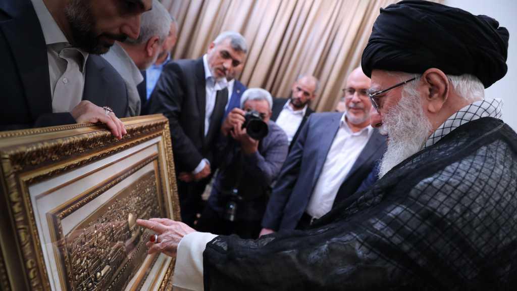 Sayed Khamenei: Lorsque sayed Nasrallah dit je prierai à al-Aqsa, il s'agit d'un vœu parfaitement réalisable