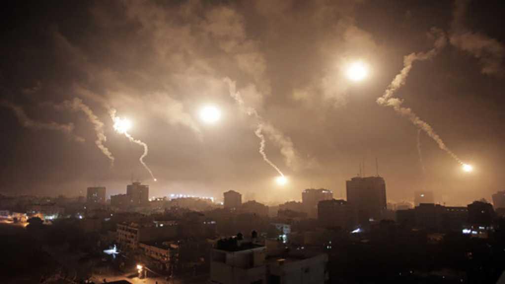 «Israël» bombarde des sites de la Résistance à Gaza