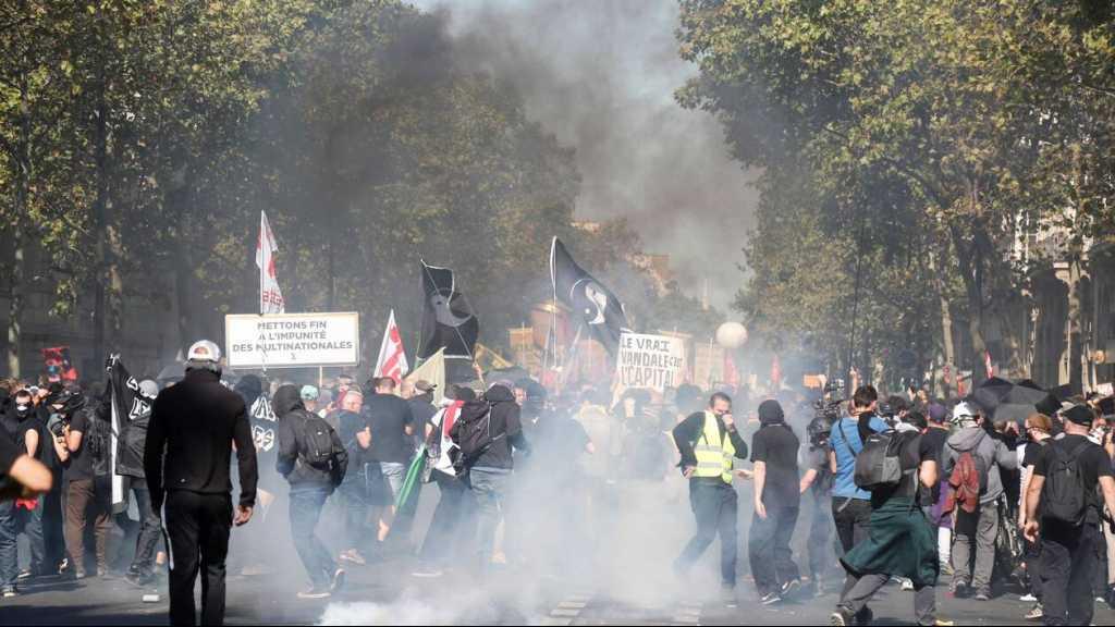 Manifestations à Paris samedi: 158 personnes placées en garde à vue
