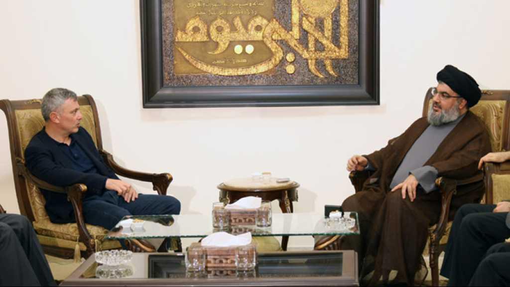Frangié chez sayed Nasrallah: nécessité de rétablir des relations normales entre le Liban et la Syrie