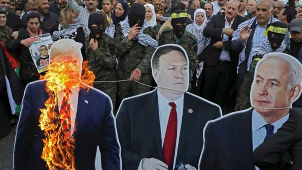 «Journée de la colère» en Cisjordanie occupée contre la décision US sur les colonies