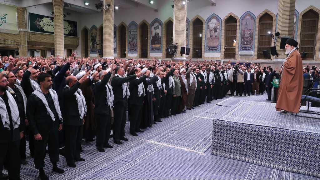 Sayed Khameneiexprime son respect et ses remerciements à l'adresse de la grande nation iranienne