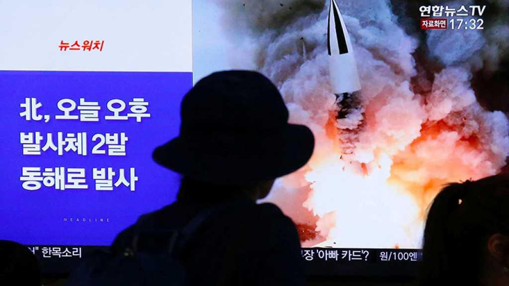 La Corée du Nord tire deux «projectiles non identifiés», annonce Séoul
