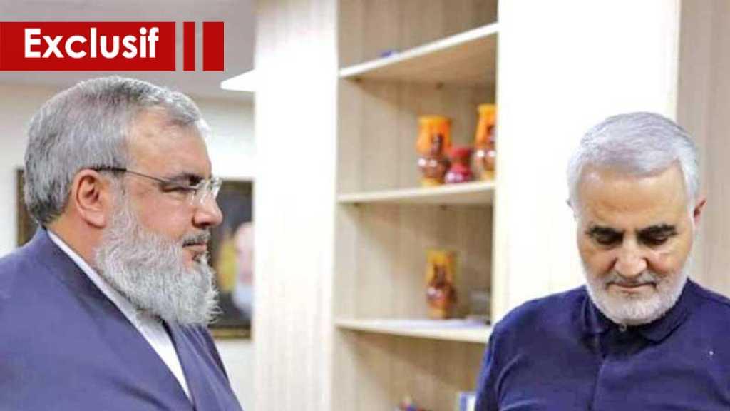Soleimani s'est exposé aux dangers à plusieurs reprises pour protéger sayed Nasrallah, les missiles de grande précision portent ses empreintes