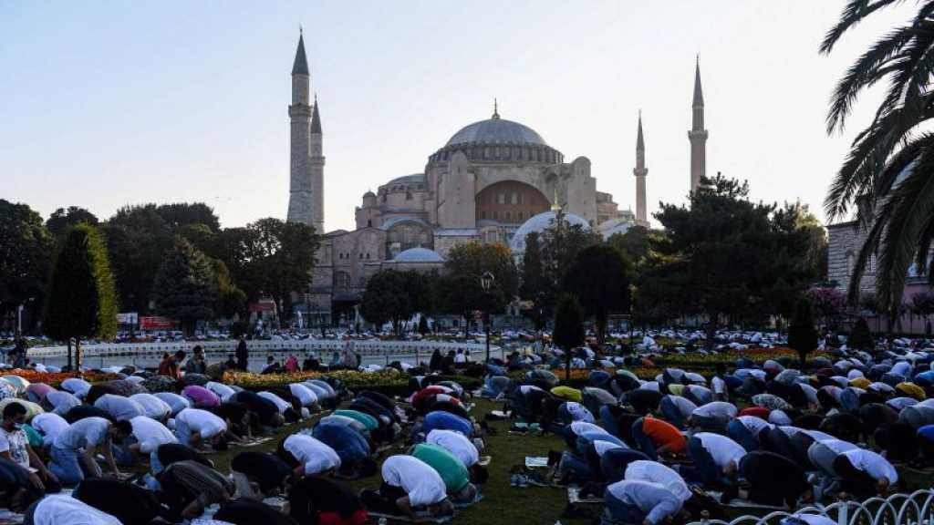Turquie: première prière de l'Adha à Sainte-Sophie reconvertie en mosquée