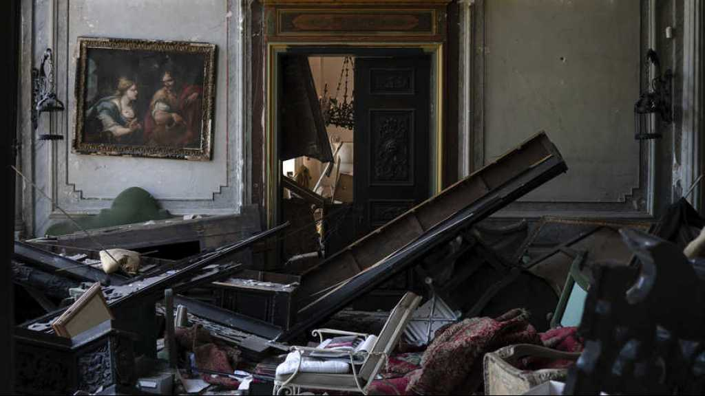 A Beyrouth, l'explosion a aussi ravagé des joyaux architecturaux