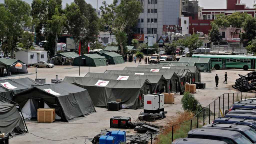 Explosion à Beyrouth: Tous les soins fournis dans les hôpitaux de campagne sont gratuits, dit la Santé