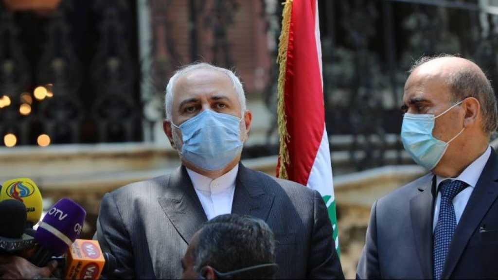 L'aide au Liban «ne doit pas être conditionnée à un changement» politique, dit Zarif